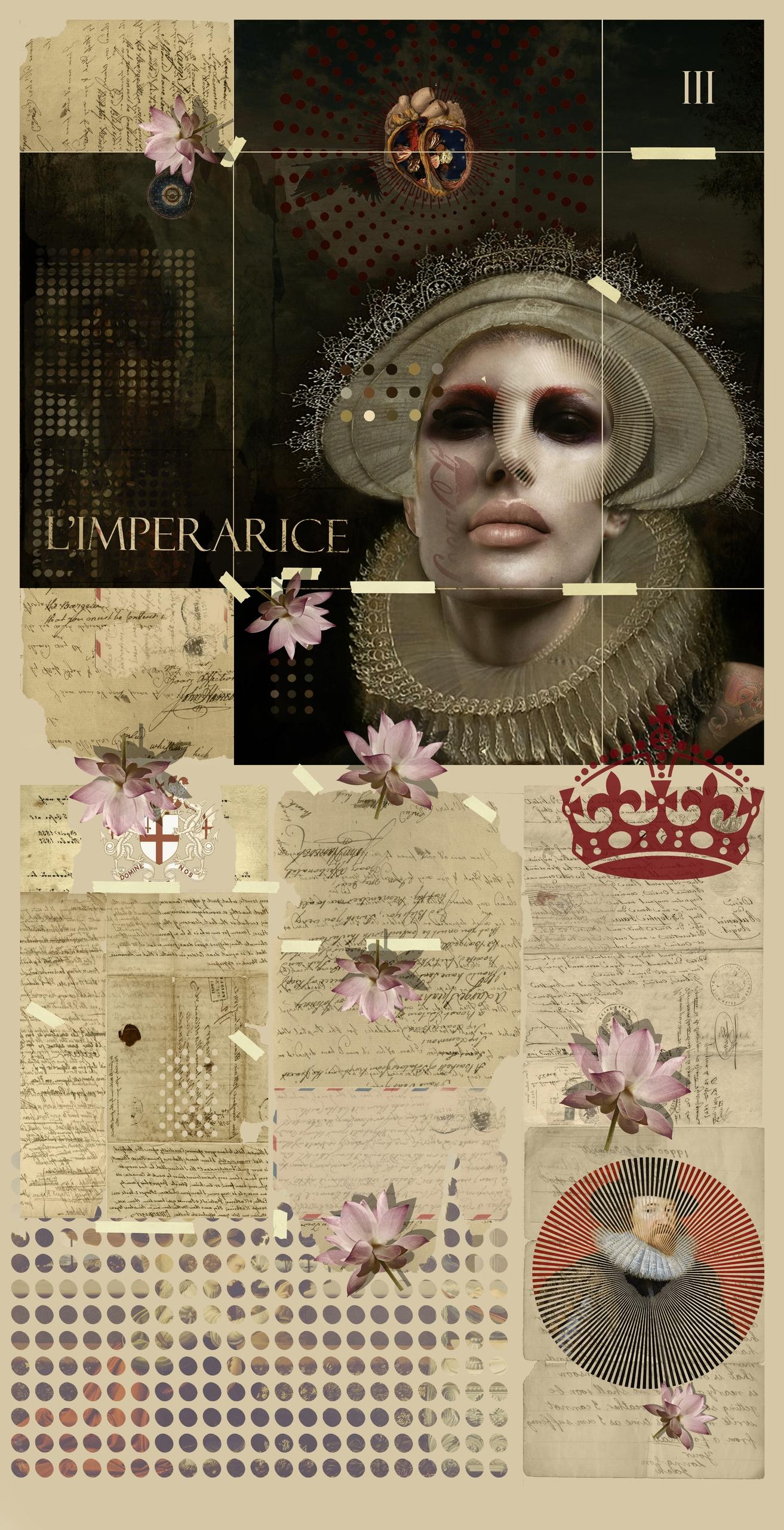 Tarot Card III - Empress card i - astroturf | ello