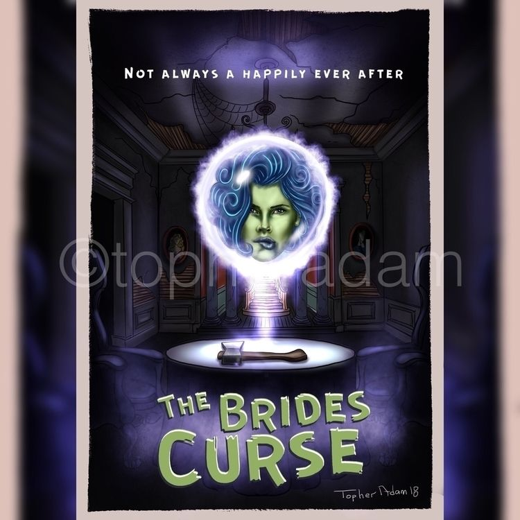 "Brides Curse"" Happily Topher Ad - topheradam 