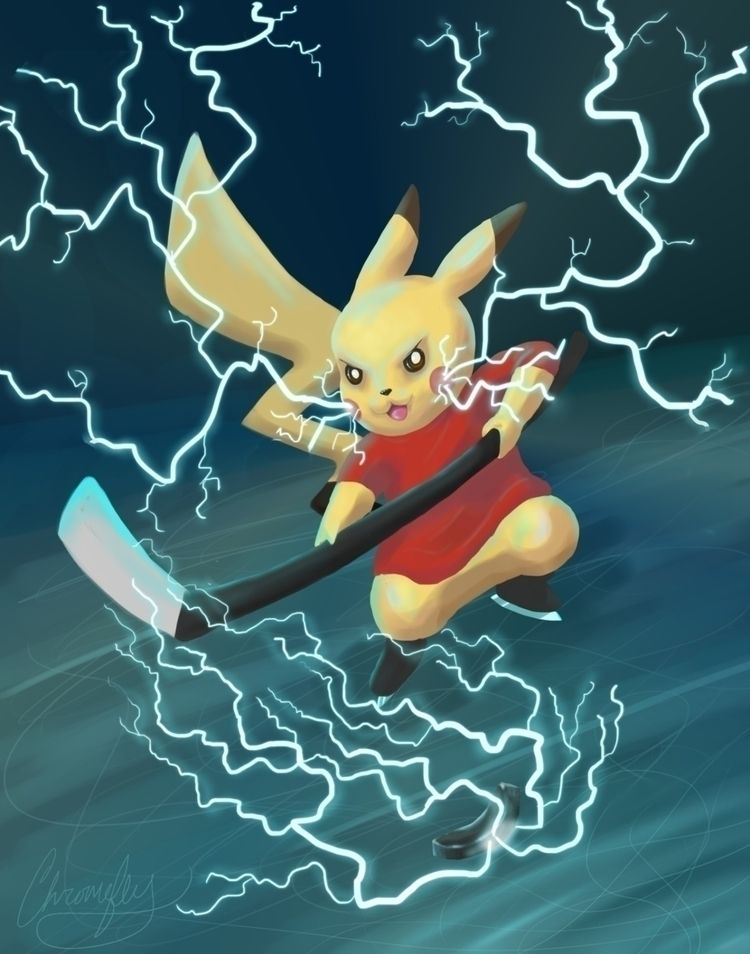 WIP paid commission! Hockeychu  - chromeflyart | ello