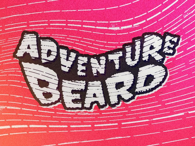 Adventure Beard Wordmark Redux - workhouse | ello