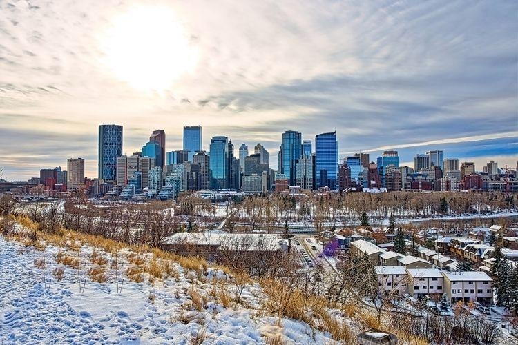 Downtown Calgary skyline McHugh - thefantasticone21 | ello