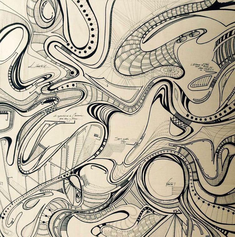 Release 110cm Marker canvas Lin - lopez-orsini   ello