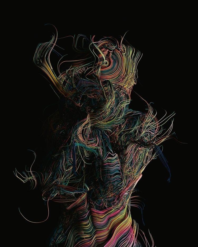 Dimensions ('Roots - c4d, houdini - darioveruari | ello