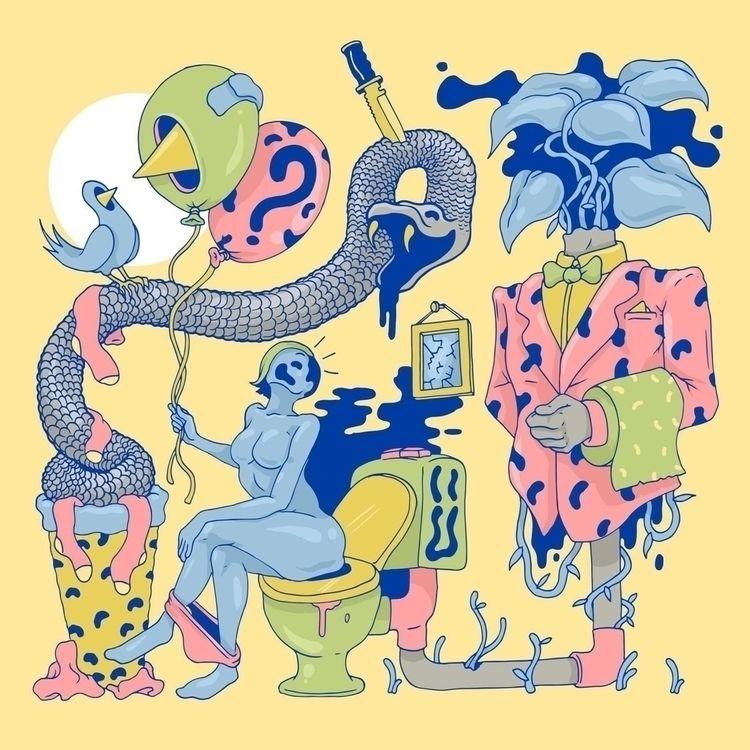 Joe Baker Australian Illustrato - bakedlab | ello