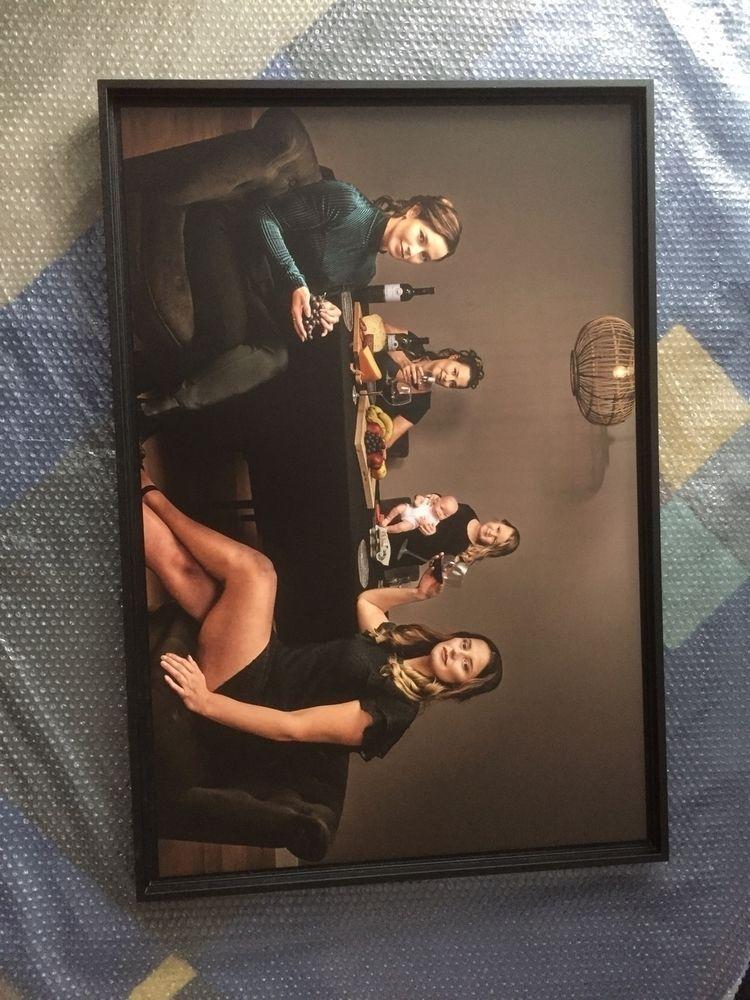 Delivered 90x60 family portrait - jasminedevries   ello