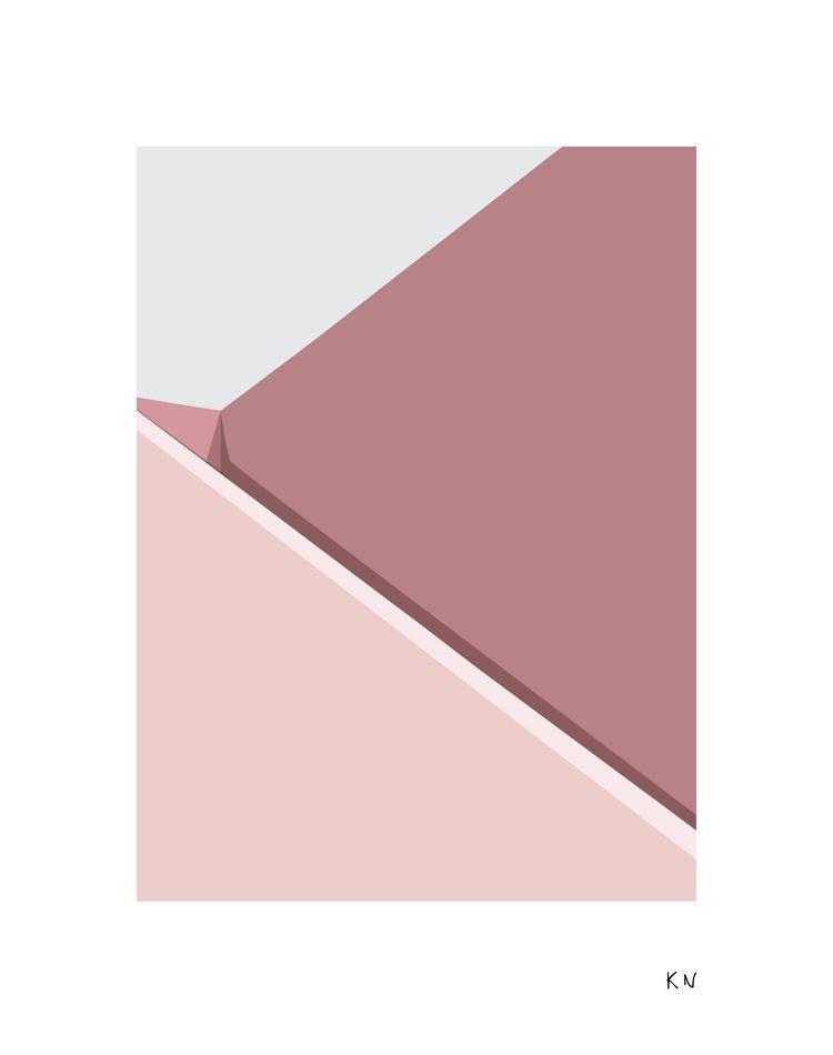 Shade IIII  - pink, facade, sketch - kristine_sn | ello