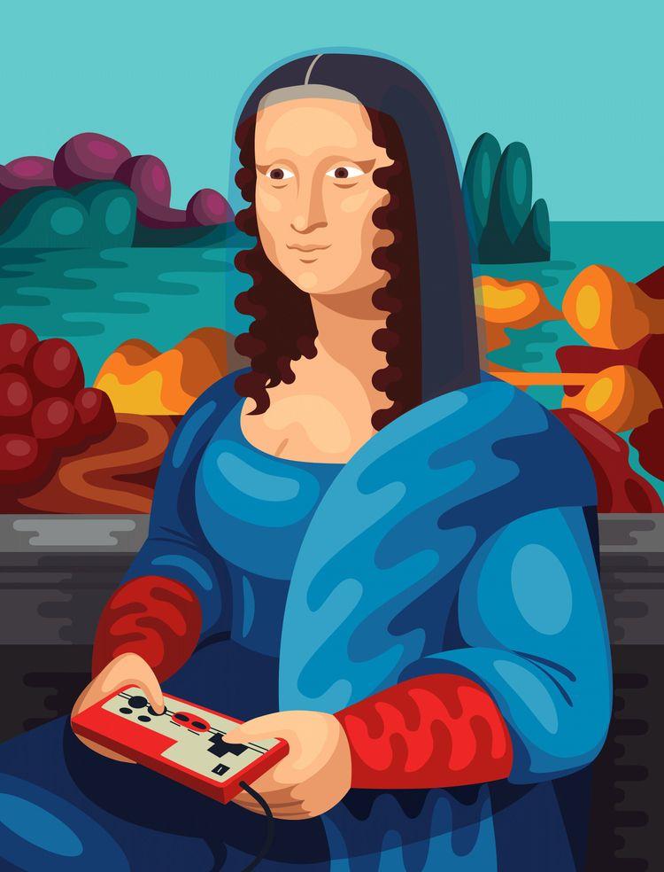 Gioconda Nintendo Olga Klevets - beataobscura | ello