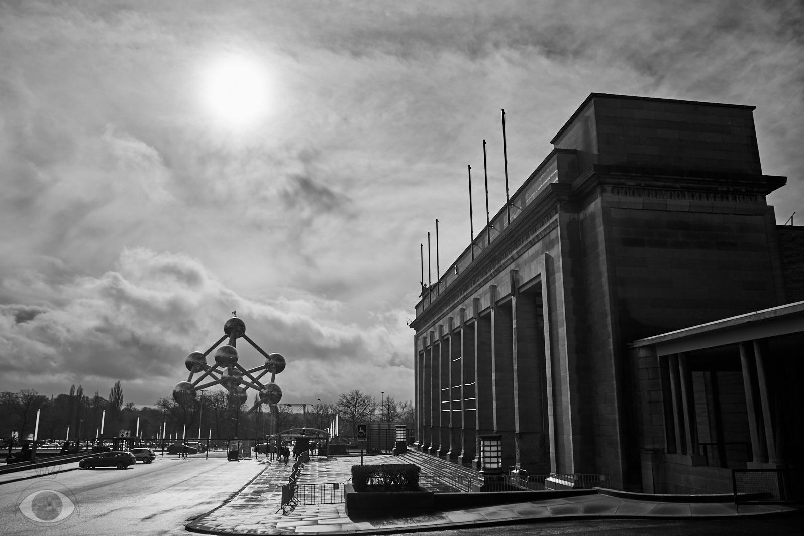 Atomium. iconic buildings Belgi - pentaxke   ello