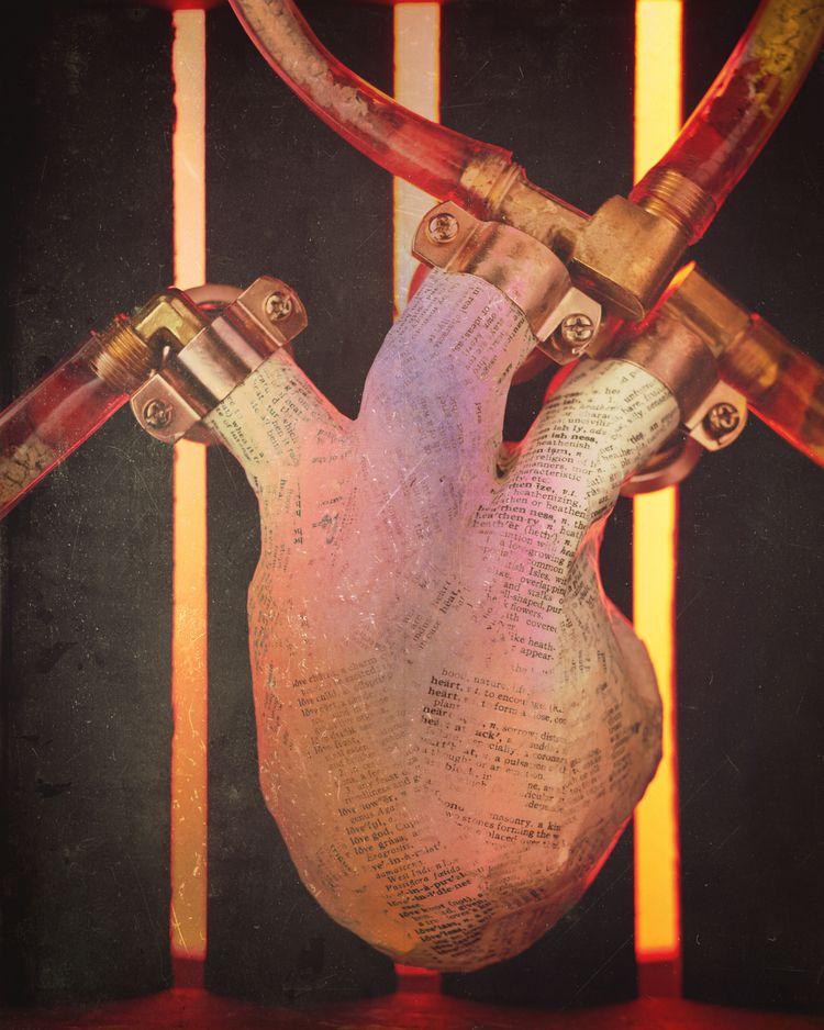 Paper Heart. photographic fine  - dglarson | ello