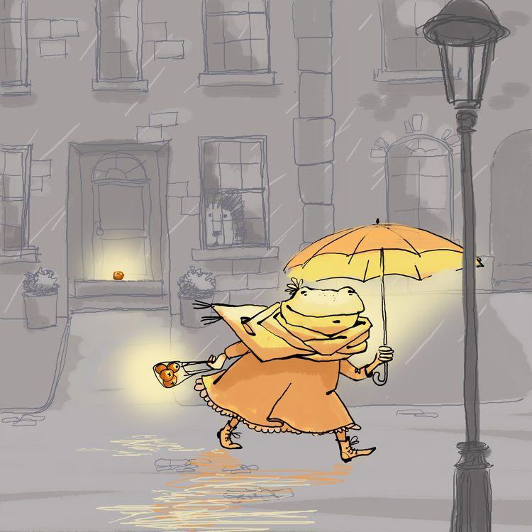 turn rainy day sunny - childrensbooks - orangeni | ello