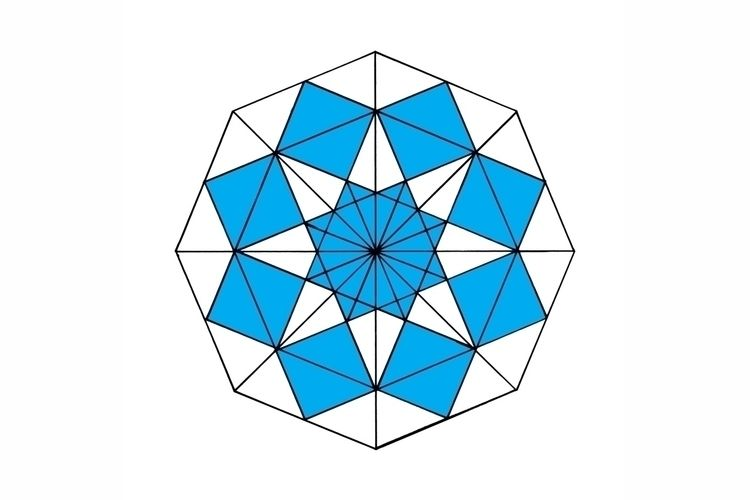 Octagon Blue - Square Digitaliz - istvanocztos | ello
