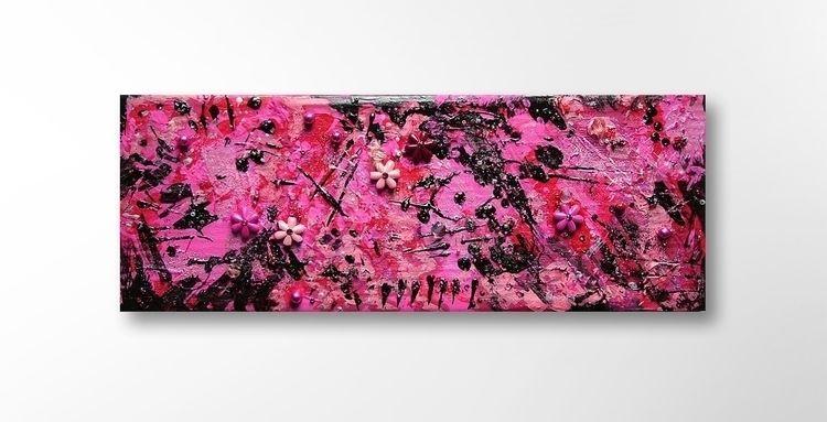 Pink Black 29 11 2,5 cm cardboa - artizmoksa | ello