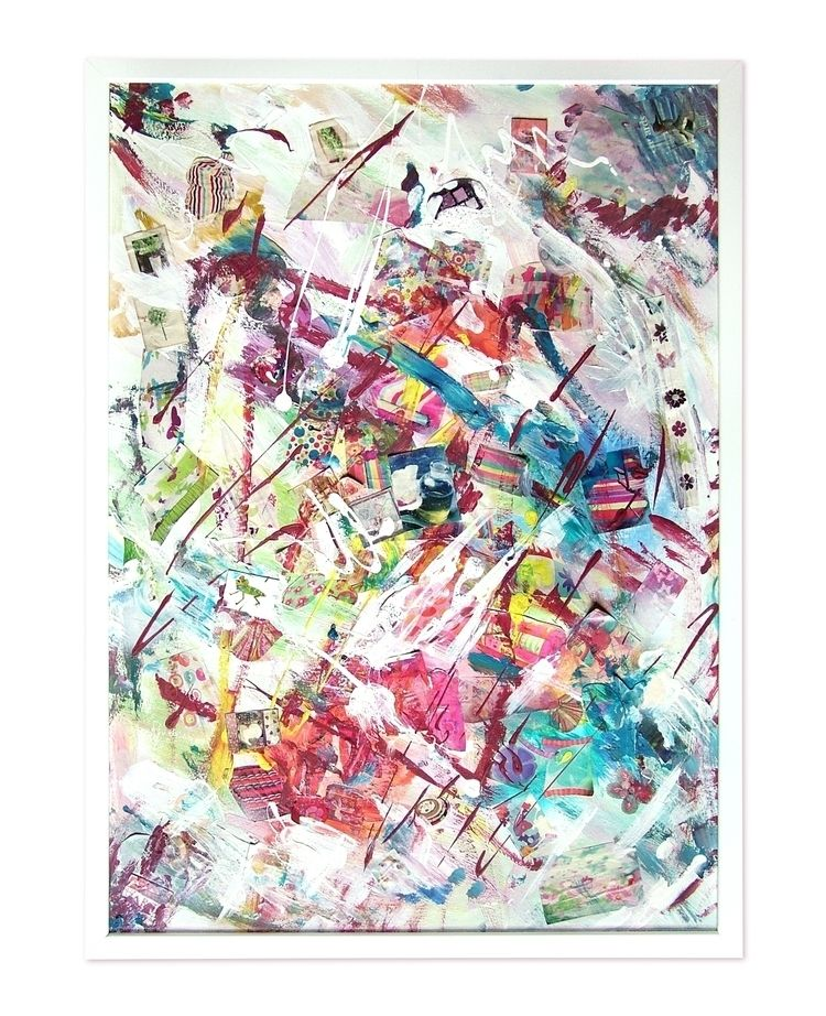Free Expression 50 70 cm framed - artizmoksa | ello