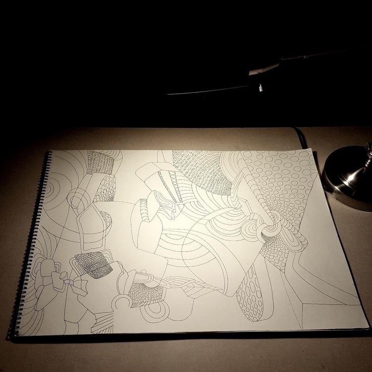 laying drawing. Danny Augustine - dannyartist | ello