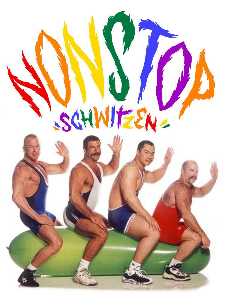 balloning, sticker, gay, cucumber - nonstopschwitzen | ello