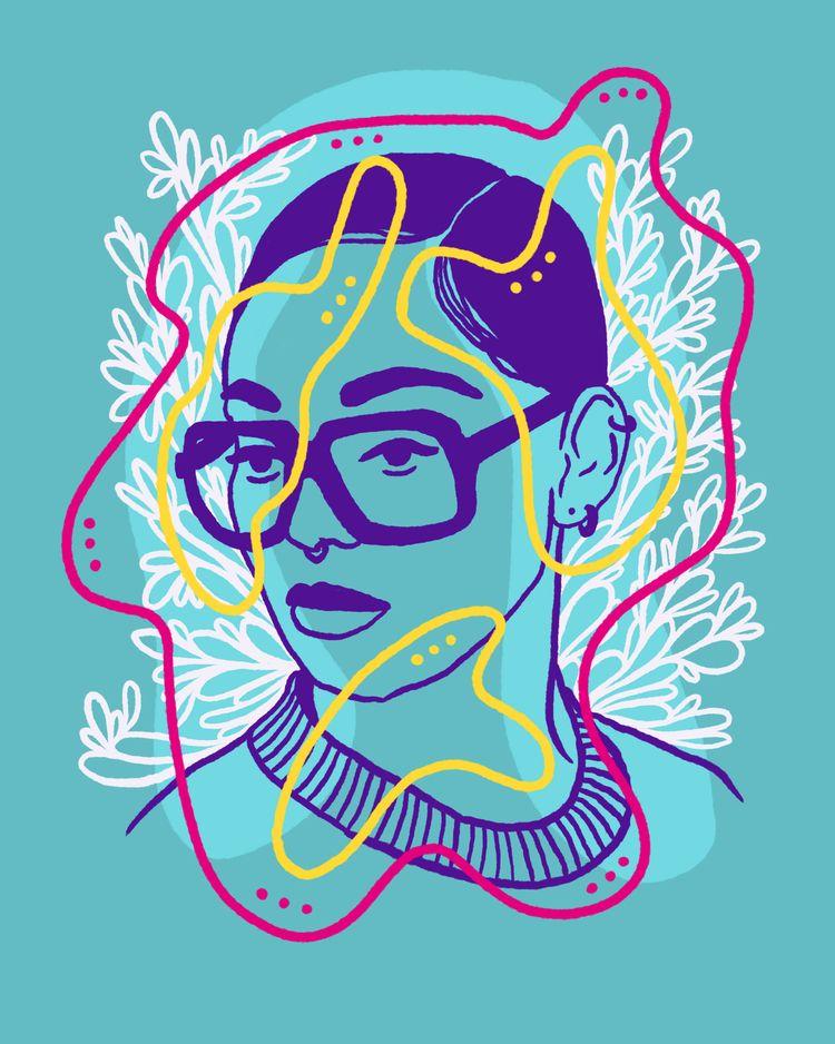 Rosebud - illustration, illustrator - heybop | ello