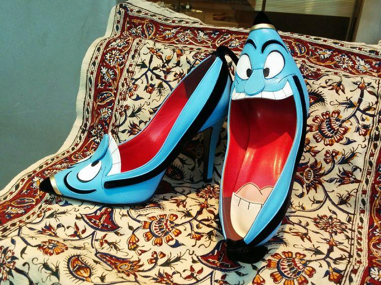 rub shoe polish, wishes true - genie - enelojial | ello