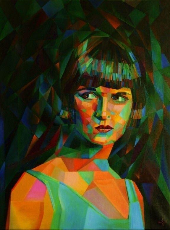 Louise Brooks (2014) (sold) Oil - corneakkers | ello