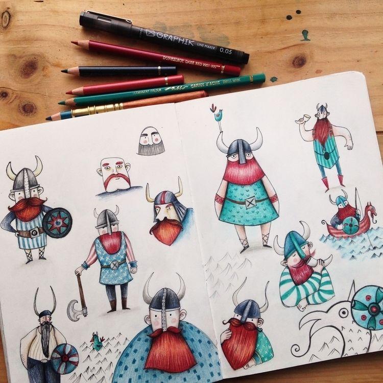 pages sketchbook - collection, elloart - sonjastangl | ello