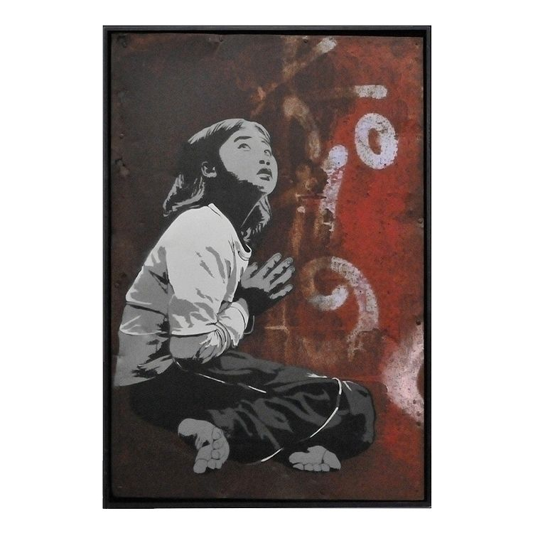 Praying Girl | 67,5 100,5 cm 20 - alias030 | ello
