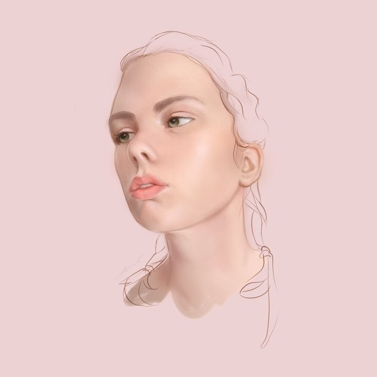 Head study - nanwray | ello