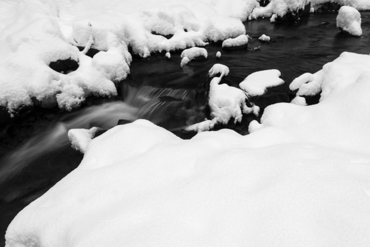 Plotter Kill Creek carves snow - toddhphoto | ello