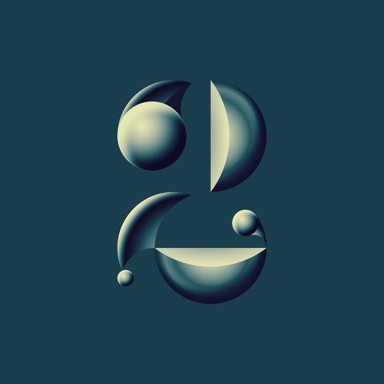 2 - Typography Illustration cel - brunobua | ello