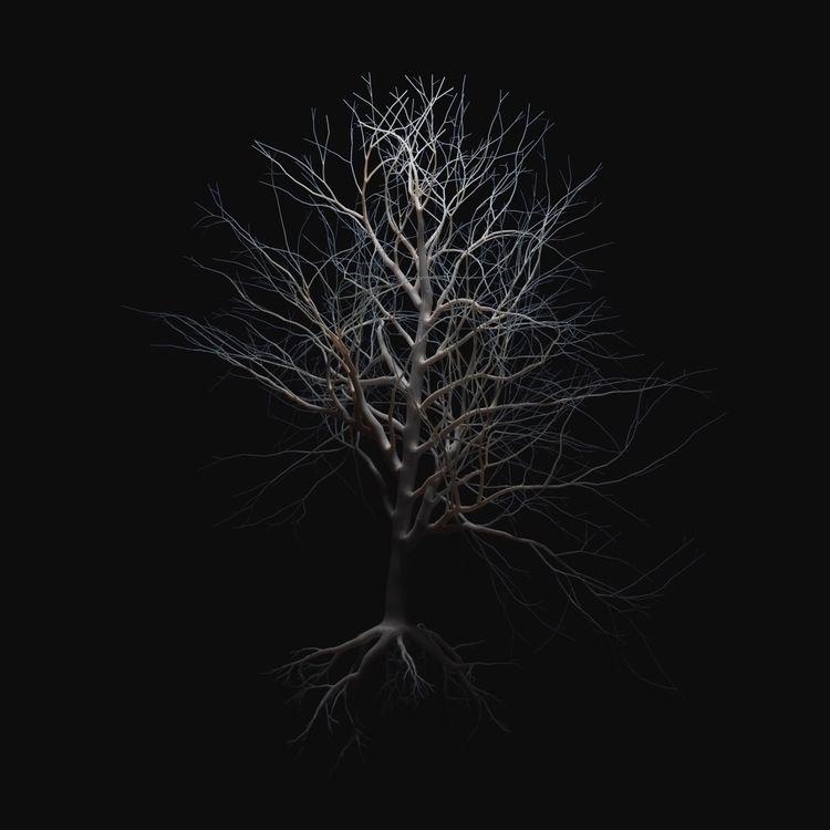 tree, 3dillustration, 3dfordesigners - jeffclermont | ello