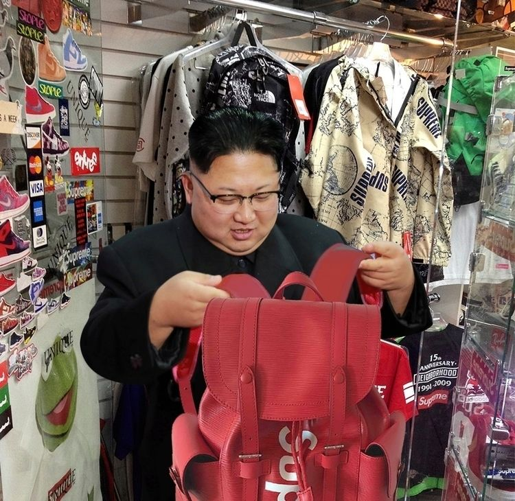 Kim Jong hypebeast. knew - kimjongun - deluvio | ello