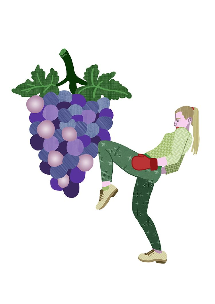 fit fruit Grape Boxer - 1:, illustration - ellis__d | ello