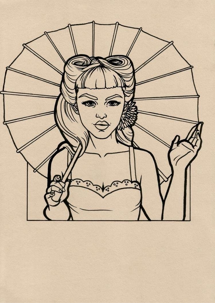 Gretchen Wieners  - sketch, draw - 4ngeldust_ | ello