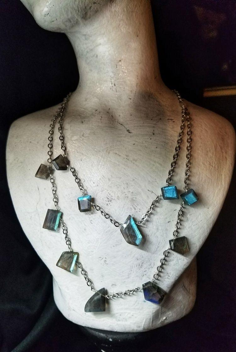 lolafaejewelry, labradoritenecklace - lolafaejewelry | ello