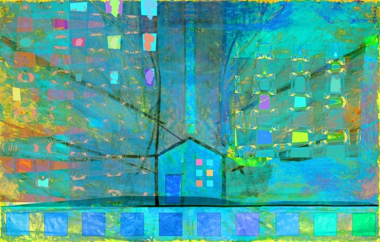 Blue House- Matisse Remix Digit - stevesherrell | ello