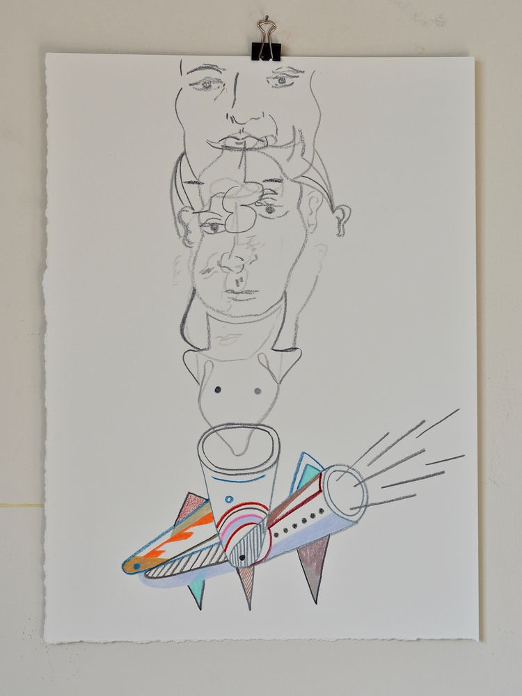 fast 2018, colour pencil paper - tonyvandenboomen | ello