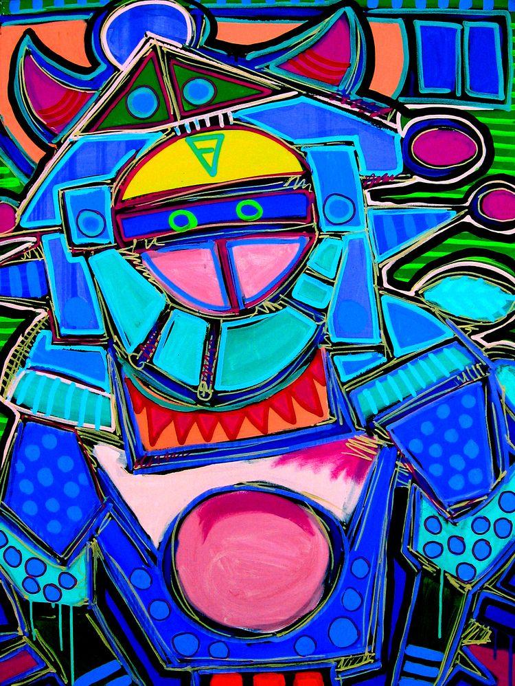 Medicine Man IV — acrylic canva - mafo | ello