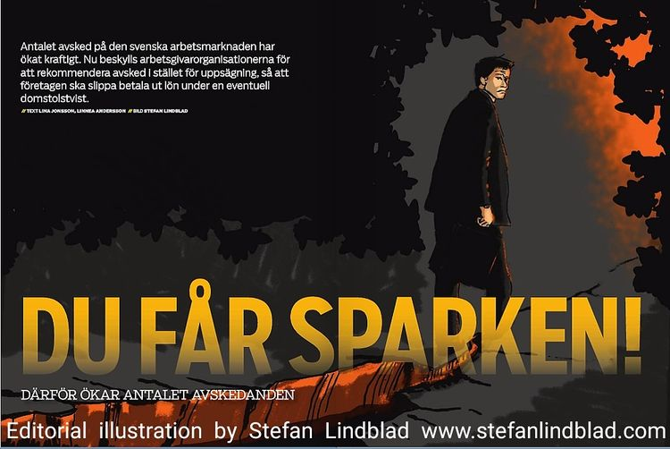 Editorial illustration Swedish  - stefanlindblad | ello
