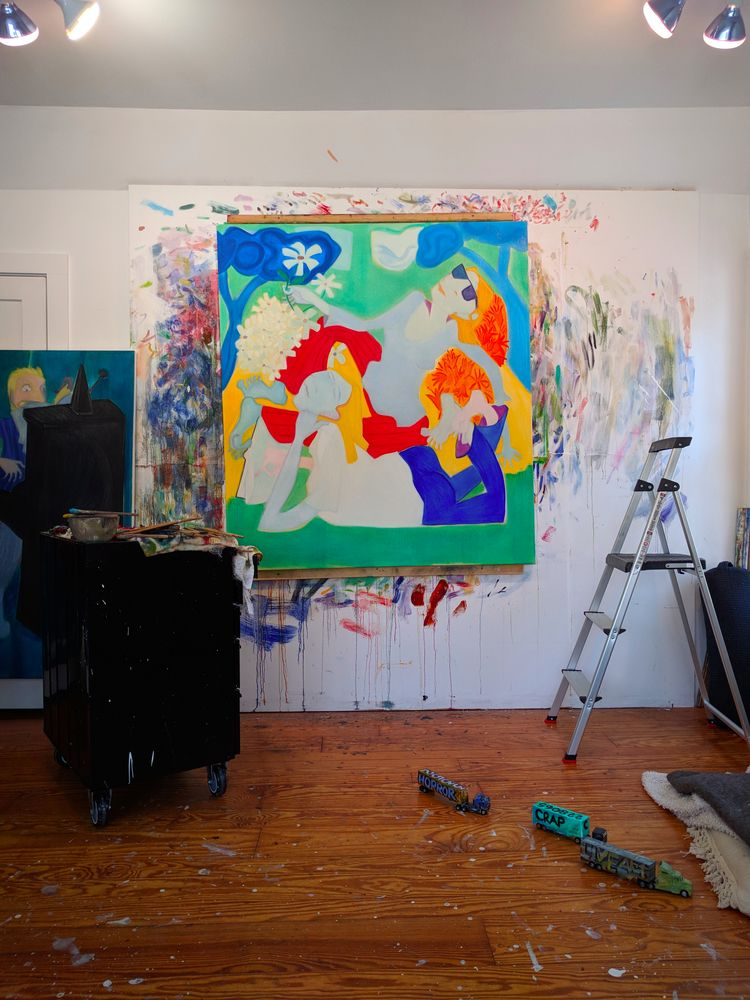 onthewall, studio, wetpaint, art - markbarry | ello