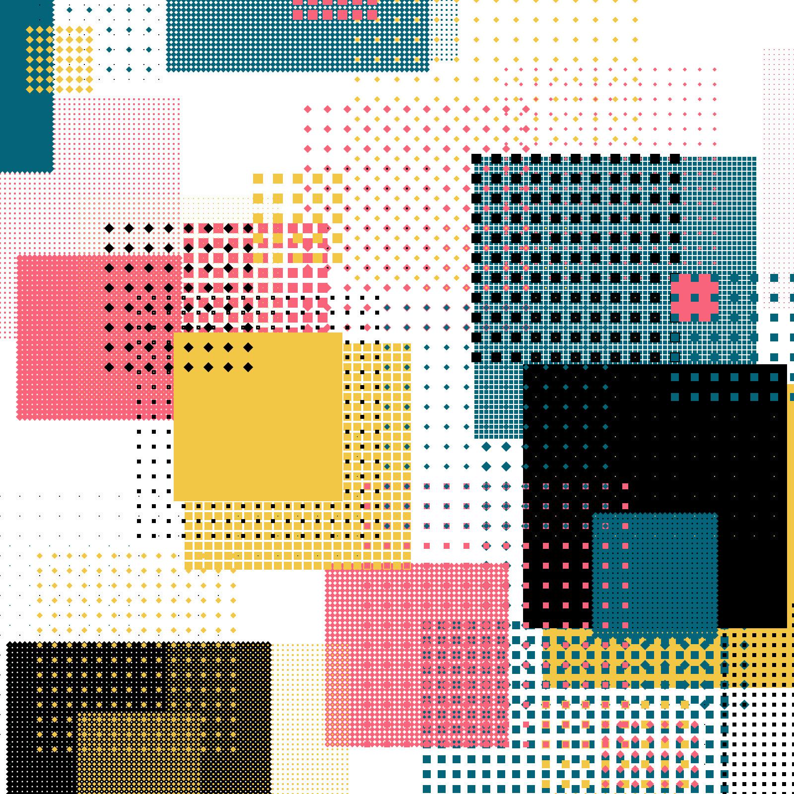 Geometric Shapes / 180317 - processing - sasj | ello