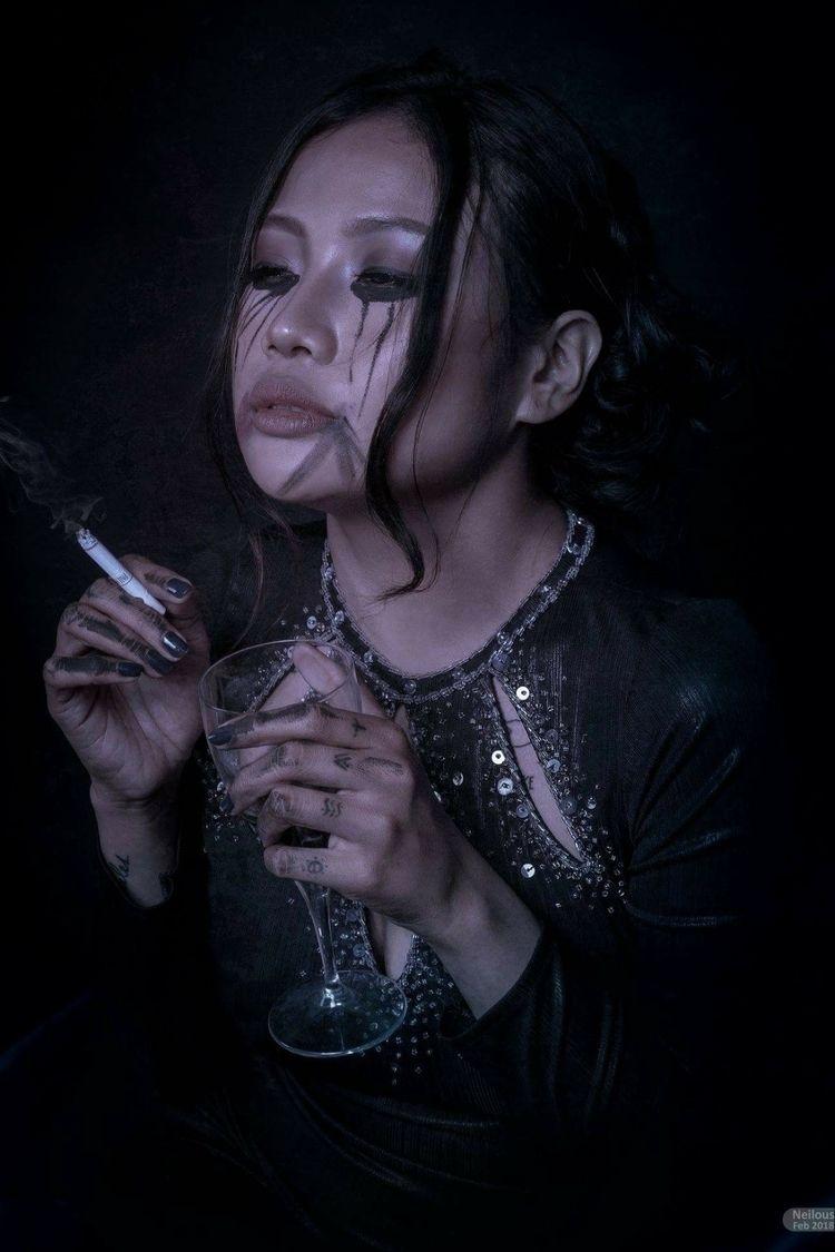 Cry Model: Paula Danielle Valbu - neilous_ello | ello