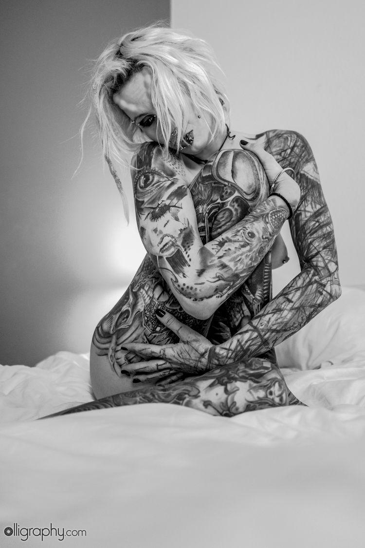 nsfw, nude, tattoo, nsfw, nude - olligraphy | ello