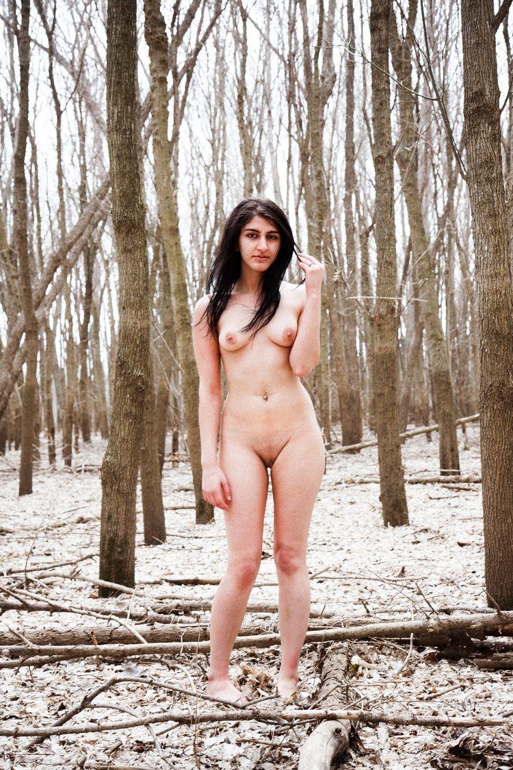 nsfw, nude, naked, woods, tits - heycalvin | ello