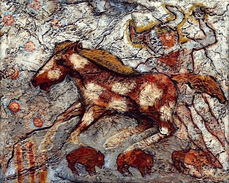 painted 10,000 years Horses —  - mafo | ello
