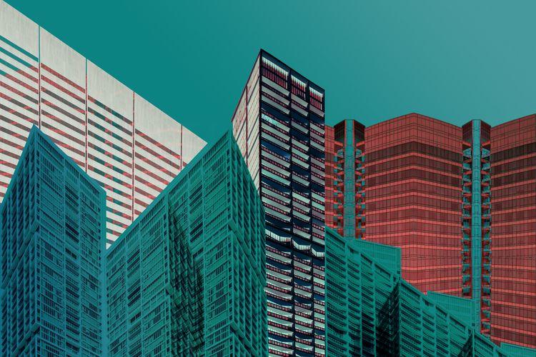 Brickell Skyline   Photography  - daydalaus   ello
