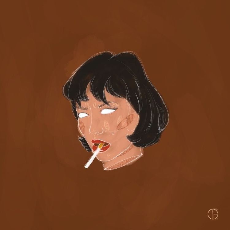 STORYBOARD - portrait, digitalart - doelaur   ello