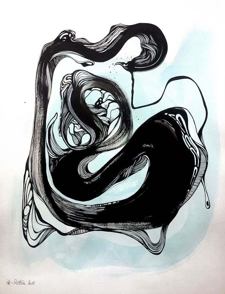 fountain - Ink markers paper 50 - berenice_rosie | ello