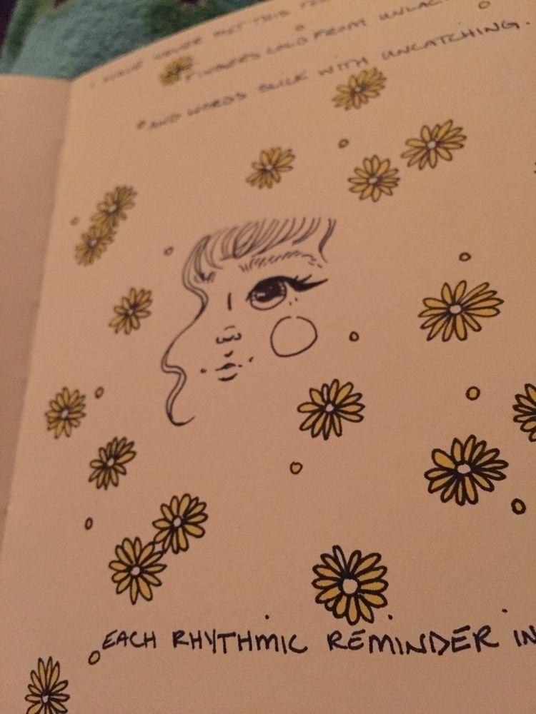 poetry, flowers, illustration - localriotgrrrl | ello