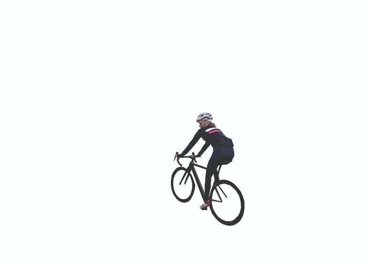 illustration, roadbike, canyon - sophieillustration | ello
