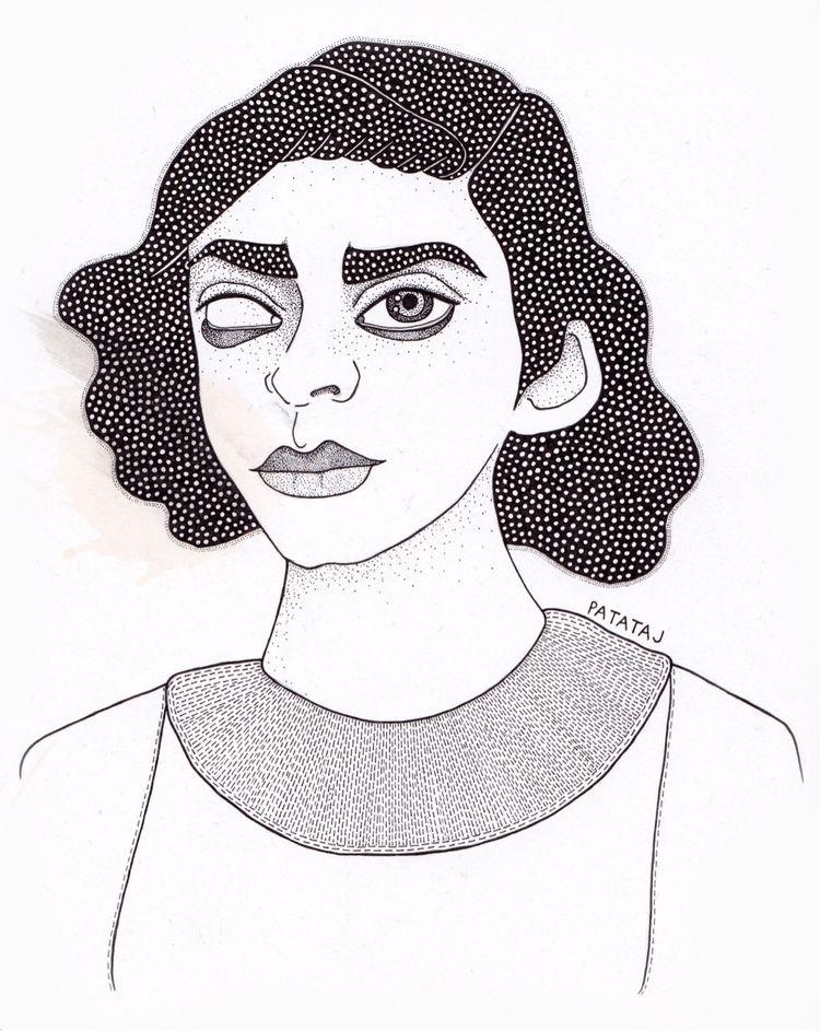 Pen paper - art, detail, pen - patataj_art | ello