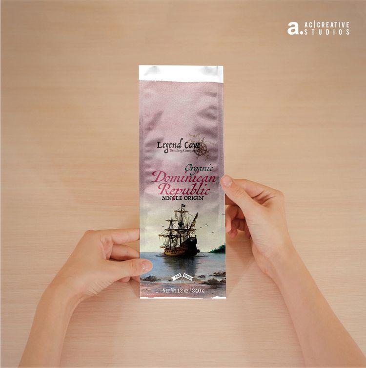 coffee packaging Legend Cove tr - alcindofilho | ello