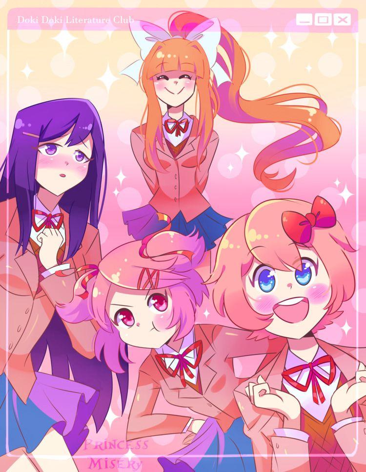 Doki Literature Club - princessmisery | ello